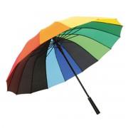 Зонт трость Rainbow Радуга 96 см. (Rainbow)