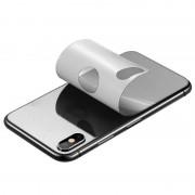 Защитная пленка на заднюю панель для iPhone 6 (серебристый)