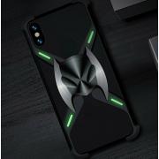 Защитный противоударный чехол R-Just для iPhone X (Черный)