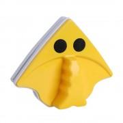 Магнитная щётка для окон Double-side glass cleaner Porcelain (Желтый)