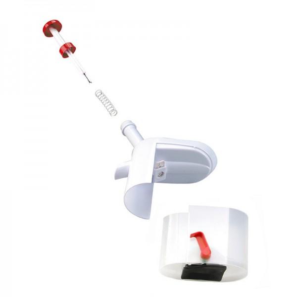Машинка для удаления косточек из вишни Вишневый бум (Бело-красный)