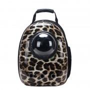 Рюкзак-переноска для животных с вентиляцией и окошком (Бежево-коричневый)