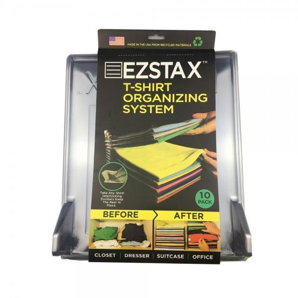 Органайзер для одежды Ezstax T-shirt organizing system (Прозрачный)