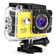 Экшн камера Sports Cam Full HD 1080p (Желтый)