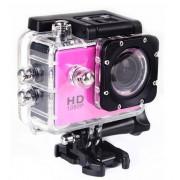 Экшн камера Sports Cam Full HD 1080p (Розовый)