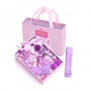 Детский подарочный набор заколок Happy every day (Фиолетовый)