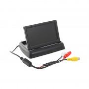 Монитор выдвижной HS-4.3Z для подключения камеры заднего вида  (Черный)