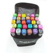 Набор маркеров Touch cool 30 цветов (Черный)