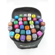 Набор маркеров Touch cool 36 цветов (Черный)