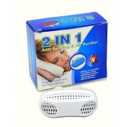 Устройство от храпа Anti Snoring & Air Purifier 2 в 1 (Белый)
