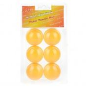 Набор мячей для настольного тенниса Премиум Y6-1878, 6 шт (Оранжевый)
