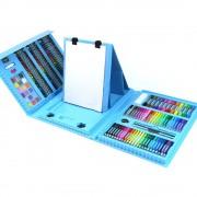 Набор для детского творчества Super Mega Art Set из 208 предметов (Голубой)