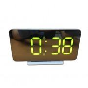 Электронные часы OS-002 (Белый-зеленый)