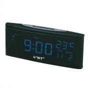 Электронные часы VST-719W-5 (Черный-синий)