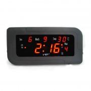 Электронные часы VST-739W-1 (Черный-красный)