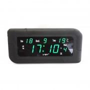 Электронные часы VST-739W-4 (Черный-ярко-зеленый)