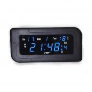 Электронные часы VST-739W-5 (Черный-синий)