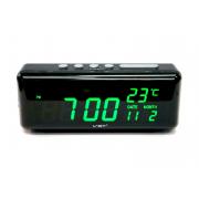 Электронные часы VST-762W-4 (Черный-ярко-зеленый)