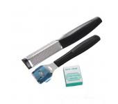 Набор для педикюра Ультрамарин Классика MAN-061, 3 предмета (Черный)