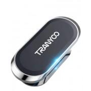 Магнитный держатель для телефона Tranyoo Z7  (Черно-серебристый)