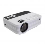 Мультимедийный мини LED проекторLed ProjectorUB10 (Белый)