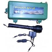 Фонарь аккумуляторный MX-KK886 30000W (Черный)