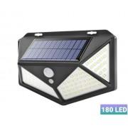Настенный уличный LED светильник HS-8010A 180Led (Черный)