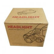 Налобный фонарь Headlight hands-free lights front (Черный)