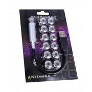 Ночной USB проектор с насадками Light for Automotive Household Decoration (Серебристо-черный)