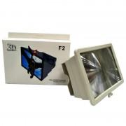 3D Увеличитель для телефона Enlarget Screen F2 (Белый)