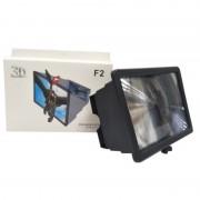 3D Увеличитель для телефона Enlarget Screen F2 (Черный)