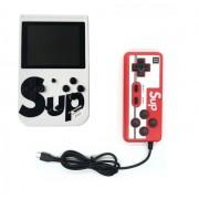Портативная игровая консоль Sup Game box 400 in 1 с джойстиком (Белый)