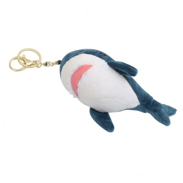 Брелок Мягкая акула 15 см (Серый)