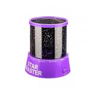 Проектор звездного неба Star Master (Фиолетовый)