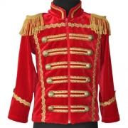 Детский маскарадный костюм Гусара размер S (Красный)
