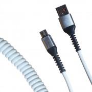 Кабель R22 USB-А to microUSB 1м (Белый)