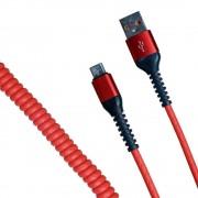 Кабель R22 USB-А to microUSB 1м (Красный)
