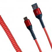Кабель R22 USB-А to Type-C 1м (Красный)