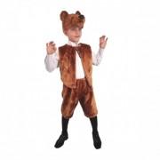 Карнавальный костюм Бурый медведь размер 28 (Коричневый)