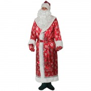 Карнавальный костюм Дед Мороз размер 54 (Красный)