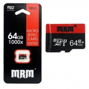 Карта памяти microSD MRM MB05 64G Class10 (Черный)