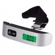 Электронные весы для багажа 50кг (Серый)