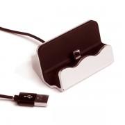 Зарядное устройство-подставка для iPhone D-45 (Розовый)