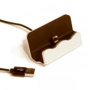 Зарядное устройство-подставка для iPhone D-45 (Золотистый)