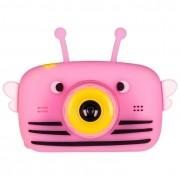 Детская цифровая камера Fun Camera View с селфи камерой (Розовая)