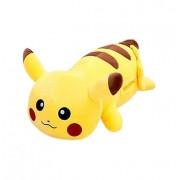 Игрушка-подушка Пикачу с отверстиями для рук 60 см (Желтый)