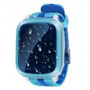 Умные детские часы с телефоном и GPS трекером Smart Watch X3 (Голубой)