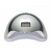 УФ-лампа UV-LED Sun 5 гибридная 48 Вт (Зеркальное серебро)