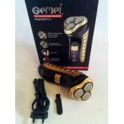 Беспроводная электробритва Gemei GM-7111 (золотой)