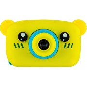 Детский цифровой фотоаппарат Zoo Kids мишка (желтый)